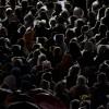 Pilger beim Papstbesuch in Rio de Janeiro Brasilien (AP Photo/Silvia Izquierdo)