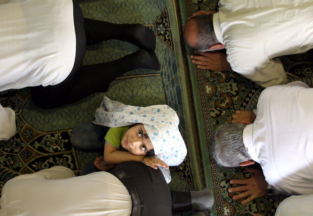 Beim Freitagsgebet in Teheran Iran EPA/ABEDIN TAHERKENAREH