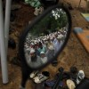 Betende im Spiegel, Moschee in Ahmadabad Indien (AP Photo/Ajit Solanki)