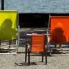 Am See in Luzern CH KEYSTONE/Sigi Tischler)