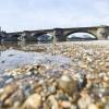 Niedrigwasser in der Elbe, Dresden D  EPA/OLE SPATA