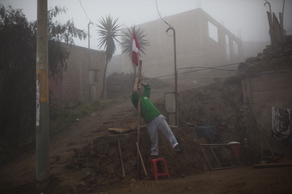Nationalfeiertag in Peru, Lima  (AP Photo/Rodrigo Abd)