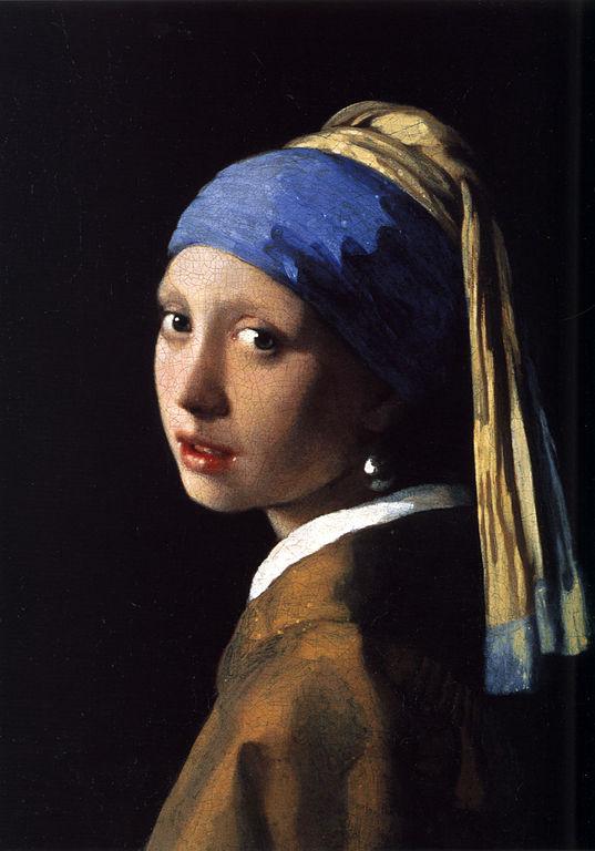 'Het meisje met de parel' von Jan Vermeer (Quelle: Wikipedia)
