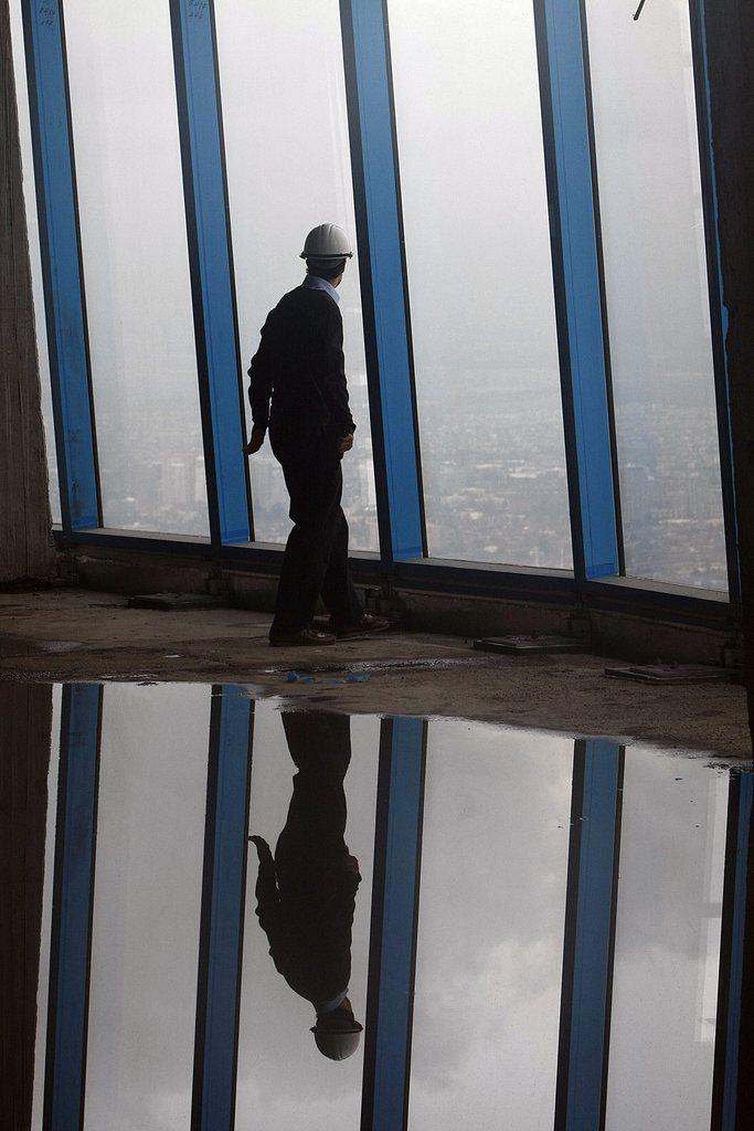 Wolkenkratzer in Santiago de Chile EPA/MARIO RUIZ