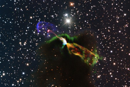 Photo/ESO/ALMA (ESO/NAOJ/NRAO)/H. Arce, Bo Reipurth)