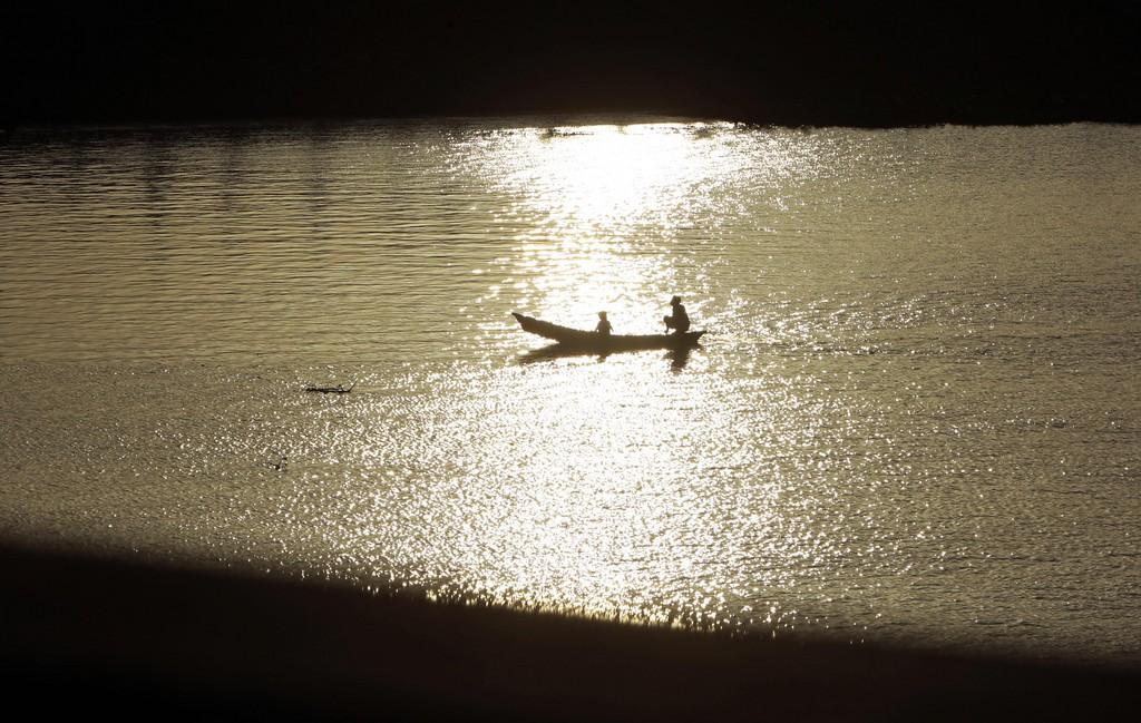 Auf dem Buriganga bei Dhaka, Bangladesh (Keystone/AP Photo/A.M. Ahad)