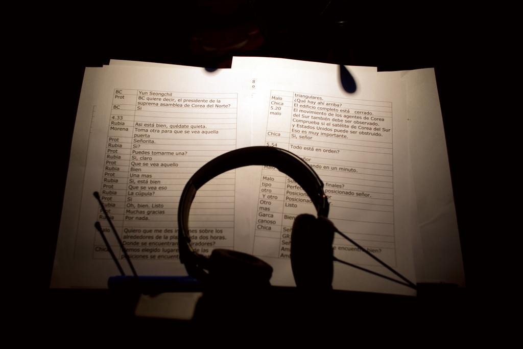 Pause im Tonstudio in Buenos Aires, Argentinien (Keystone/AP Photo/Victor R. Caivano)