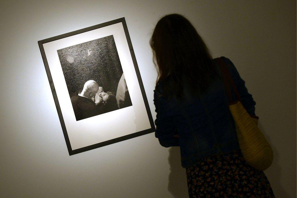 Fotoausstellung in Valladolid, Spanien (Keystone/EPA/Nacho Gallego)