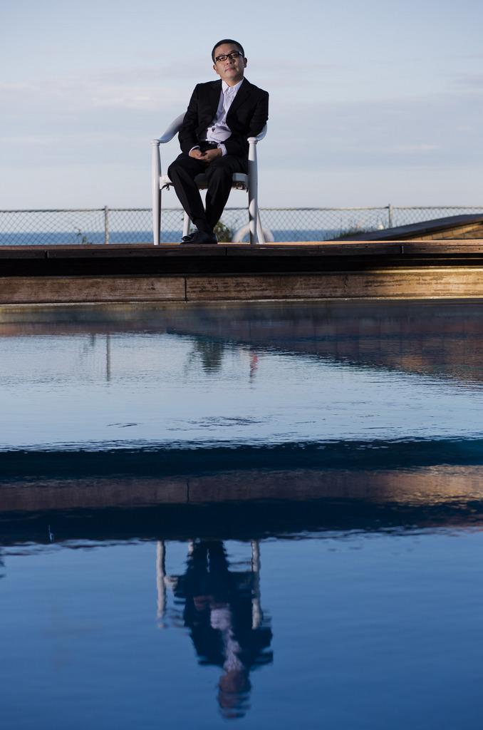 Sion Sono in Venedig, Italien (Keystone/AP Photo/Domenico Stinellis)