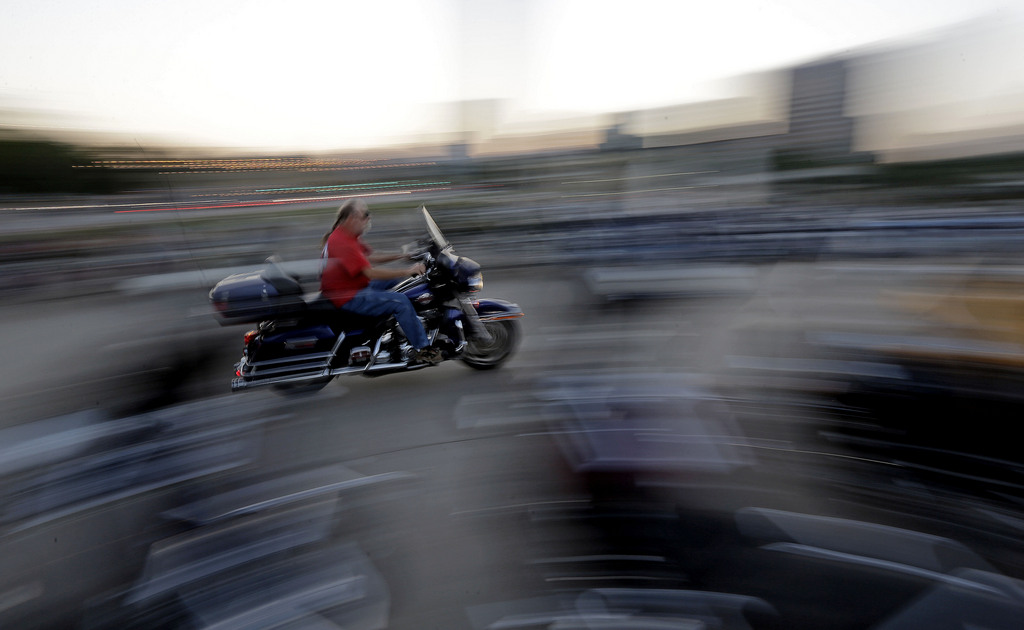 Harley Davidson feiert den 110. Geburtstag in Milwaukee, USA (Keystone/AP Photo/Morry Gash)