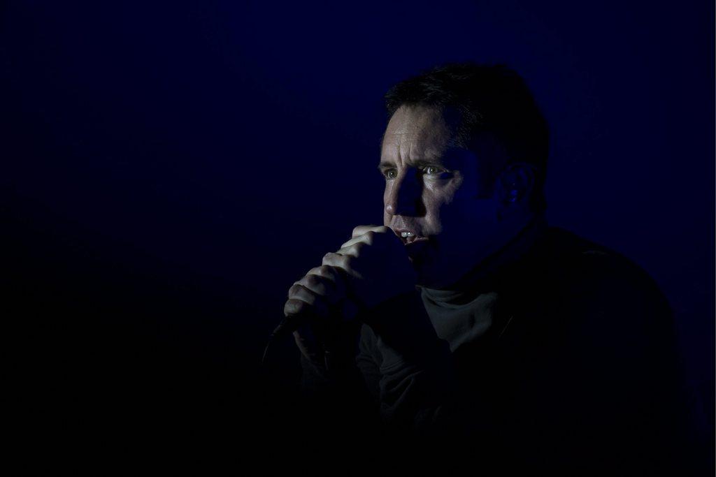 Trent Reznor in Zürich, Schweiz (Keystone/Gian Ehrenzeller)