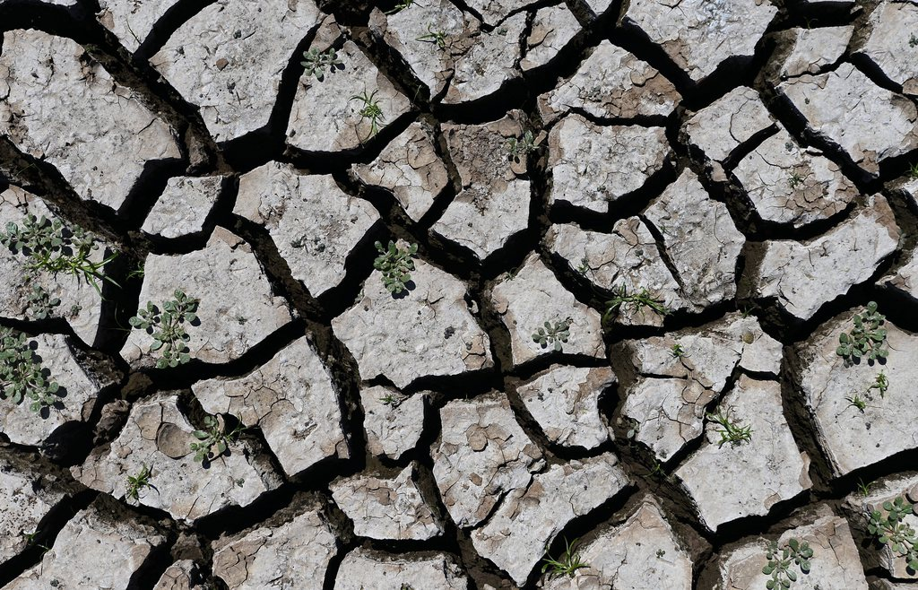 Dürre bei den Wichita Falls (Keystone/EPA/Larry W. Smith)