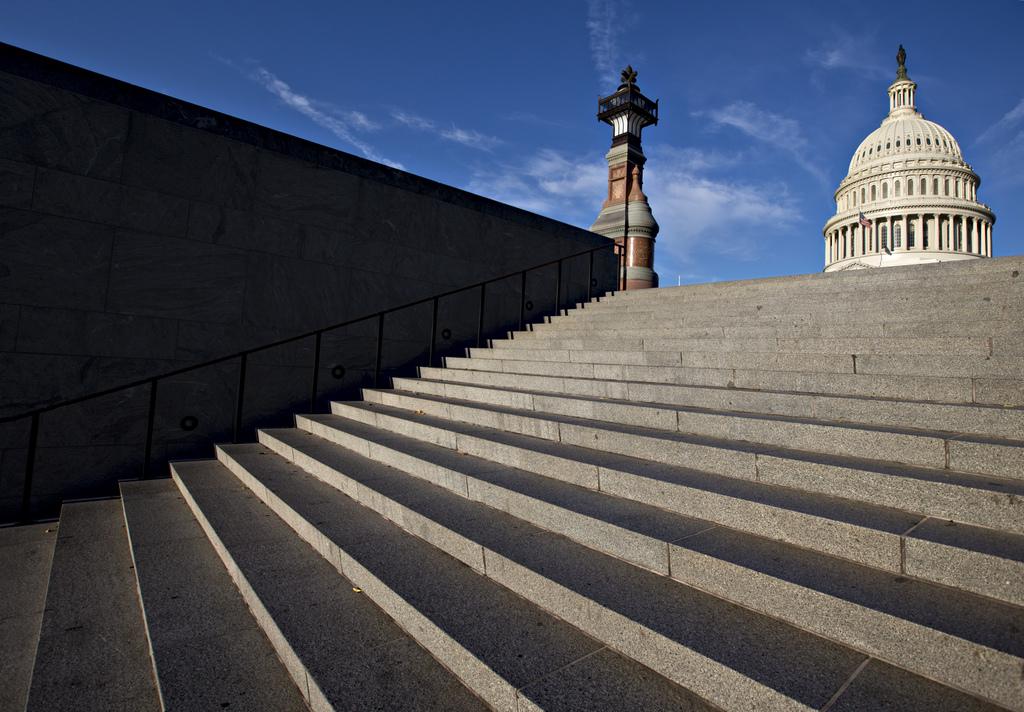 Blick auf das Kapitol in Washington, USA (Keystone/AP Photo/J. Scott Applewhite)