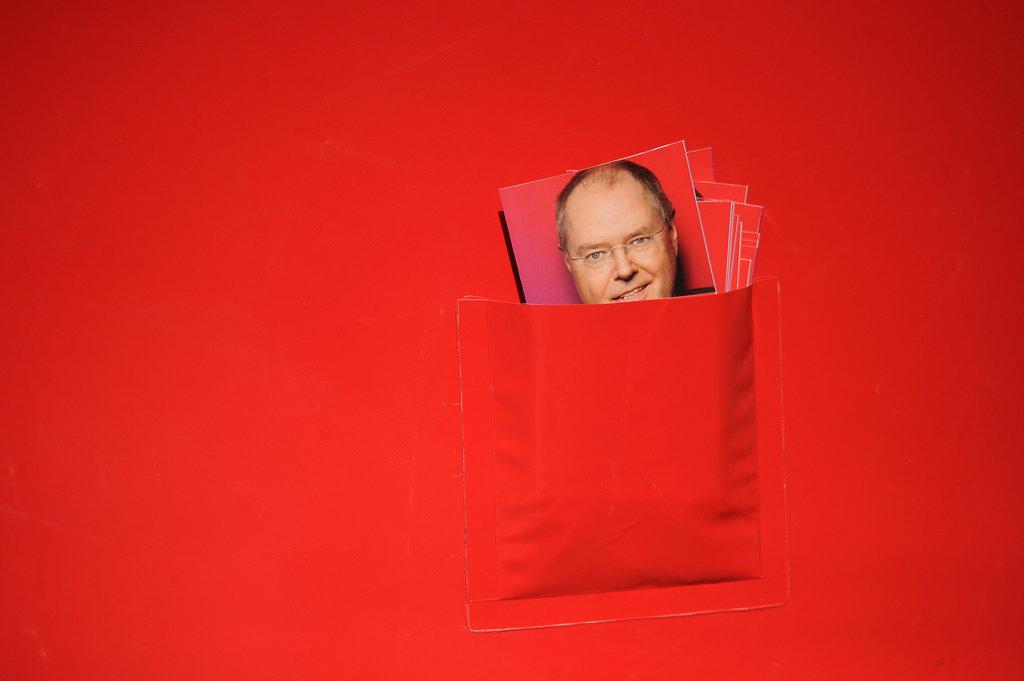 Wahlkampf in Hilden (Keystone/dpa/Henning Kaiser)