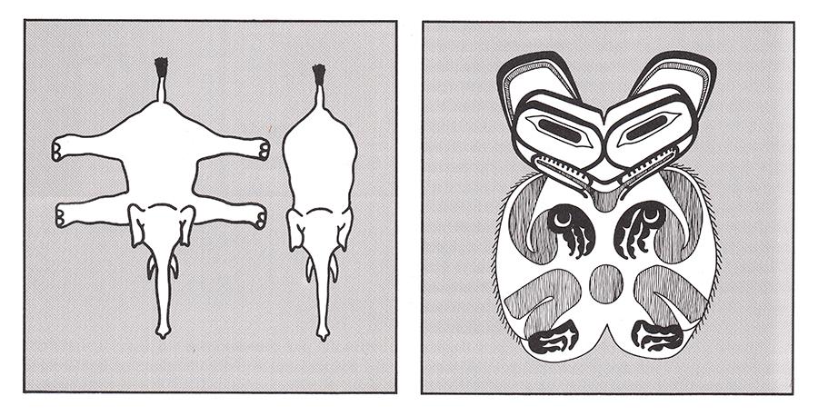 Vergleich zwischen zwei- und dreidimensionaler Lesart (Quelle: Jan B. Deregowski)