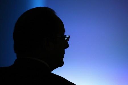 Francois Hollande in Paris, Frankreich (Keystone/EPA/Yoan Valat)