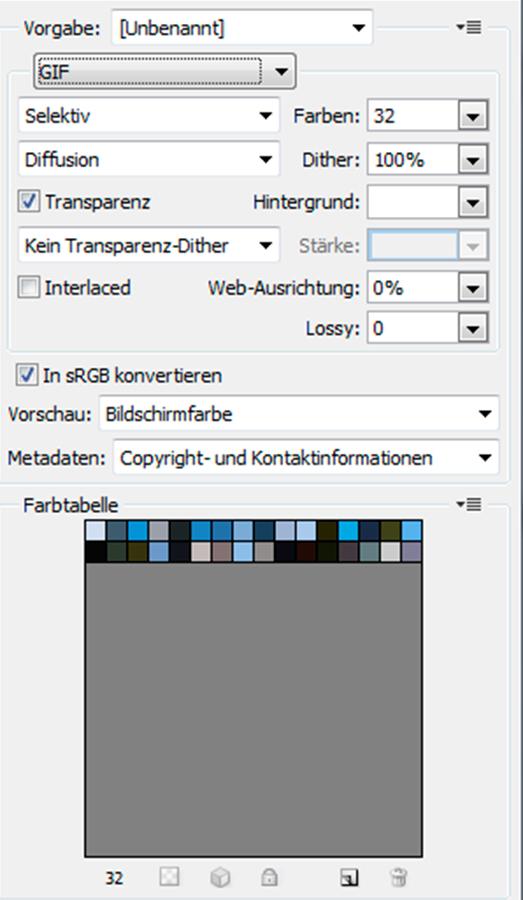Bild 3: GIF-Umwandlung