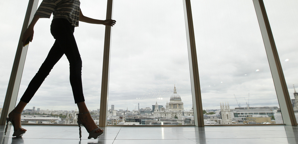 London Fashion Week, Großbritannien (Keystone/AP Photo/Alastair Grant)