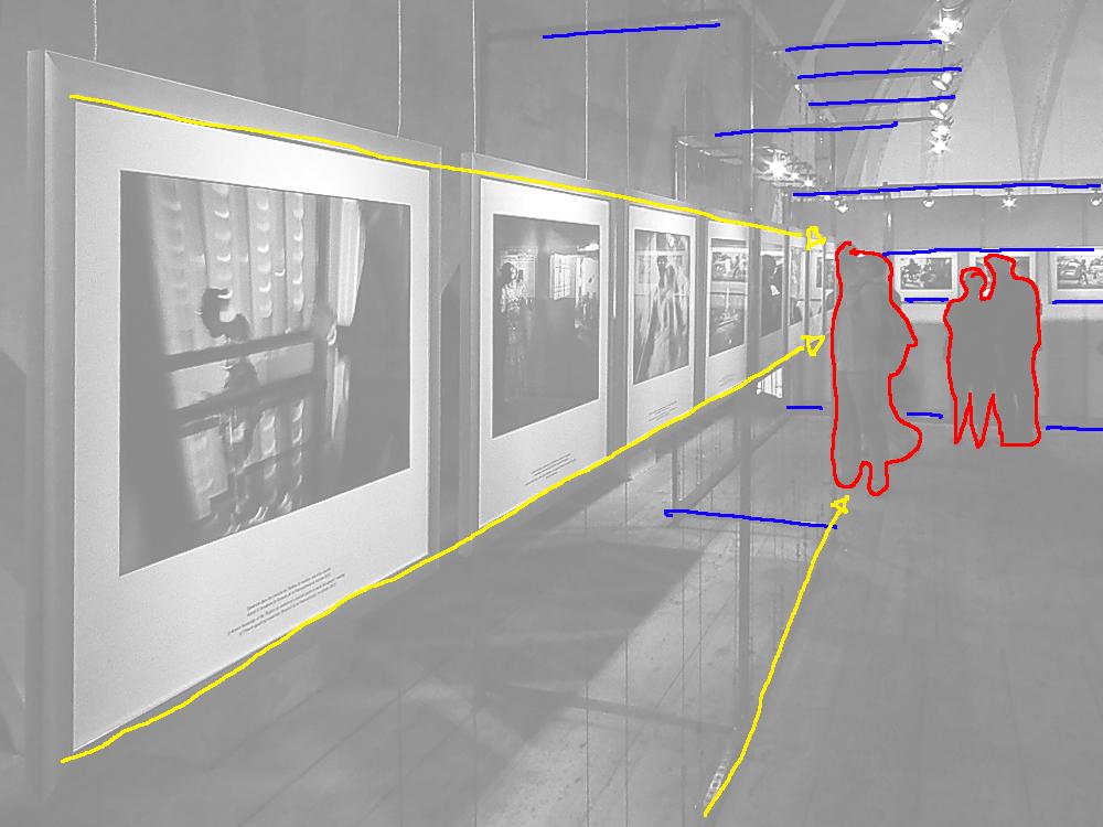 Komposition: Grundelemente und Fluchtlinien