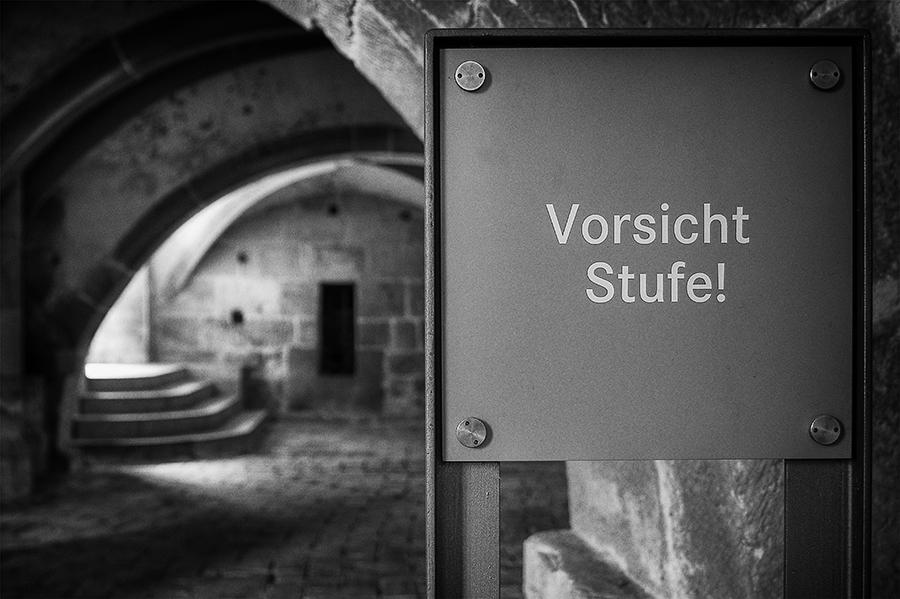 Vergleichsarbeit 2: 'Warntafel im Kloster Maulbronn'
