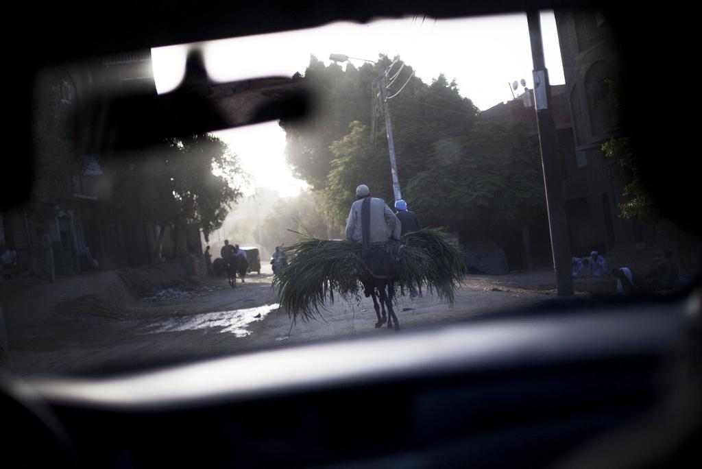 Auf den Straßen von Kairo, Ägypten (Keystone/AP Photo/Manu Bravo)