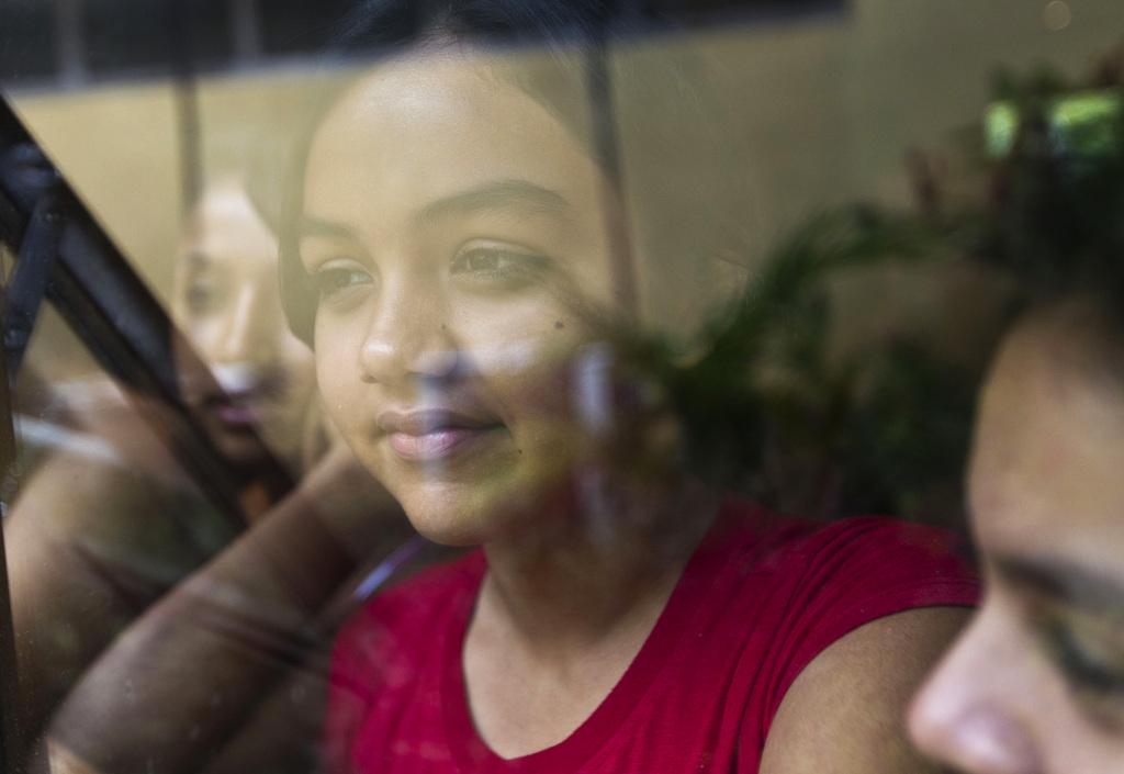 Mädchen in Managua, Nicaragua (AP Photo/Esteban Felix)