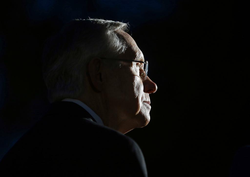 Senator Harry Reid in Washington, USA (Keystone/AP Photo/Pablo Martinez Monsivais)