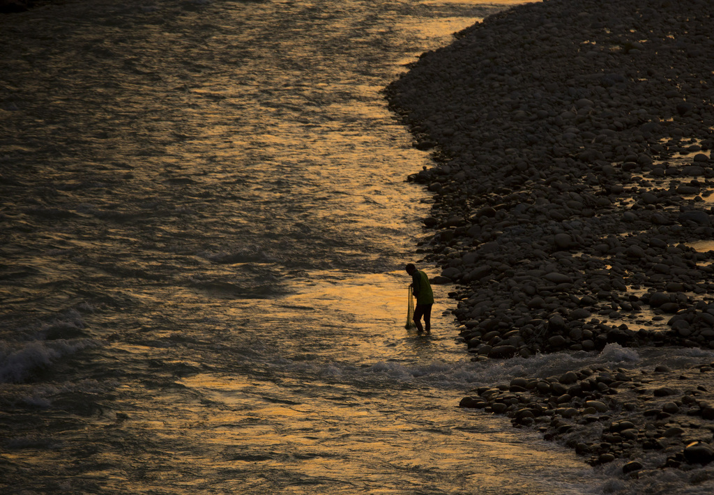 Fischer in Mingora, Pakistan (Keystone/AP Photo/Anja Niedringhaus)