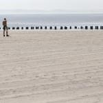 Am Strand des Jacob Riis Parks in New York, USA (Keystone/AP Photo/Kathy Willens)
