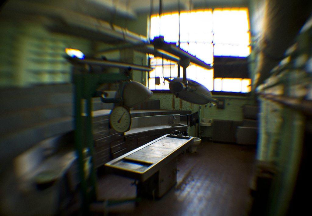 Der Exorzist: Blick in das psychiatrische Krankenhaus, wo es erstmals zu Exorzismus-Übungen gekommen sein soll, Southeast Washington, DC, USA, EPA/JIM LO SCALZO