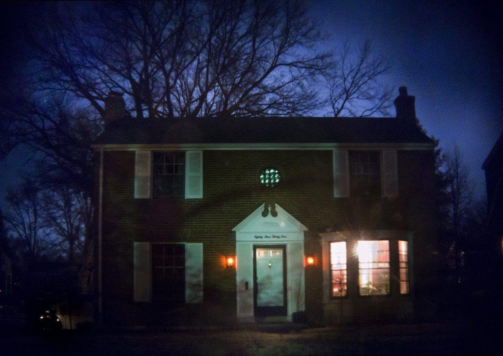 Der Exorzist: das Haus, in dem die Teufelsaustreibung stattgefunden haben soll, oben im Schlafzimmer, Saint Louis, Missouri, USA, EPA/JIM LO SCALZO