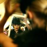 Backstage bei der Modenschau in Los Angeles, USA (Keystone/EPA/Sean Masterson)