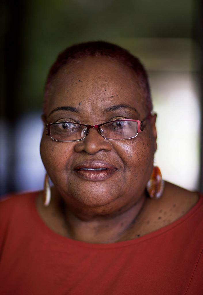 Porträt einer alten Frau in Decatur, Georgia USA (AP Photo/David Goldman, Archiv)