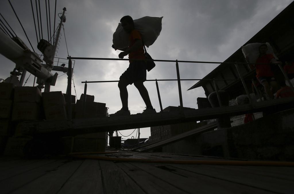 In den Docks von Manila, Philippinen (Keystone/AP Photo/Aaron Favila)