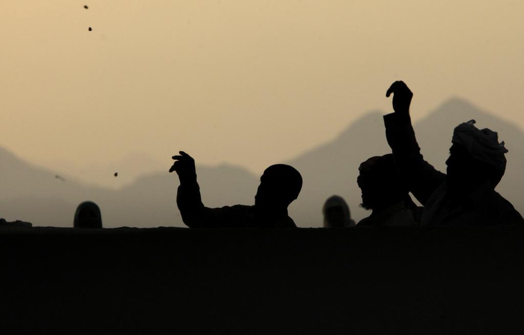 Pilger auf der Hajj in Mekka, Saudi Arabien (Keystone/AP Photo/Amr Nabil)