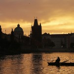 Fischer in Prag, Tschechien (Keystone/AP Photo/Petr David Josef)