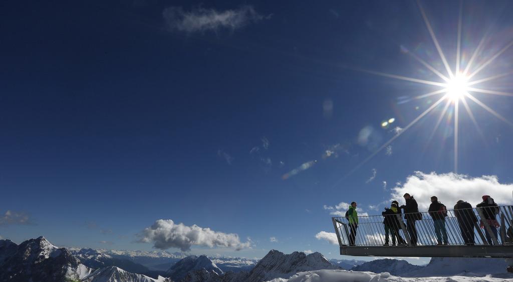 Herbst bei Garmisch-Partenkirchen, Deutschland (Keystone/AP Photo/Matthias Schrader)
