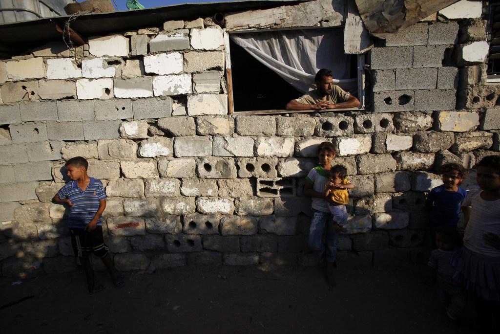 Kinder in Gaza-Stadt, Palästina  (AP Photo/Adel Hana)