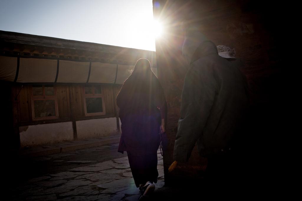 In einem tibetanischen Kloster in Xiahe, China (Keystone/AP Photo/Andy Wong)
