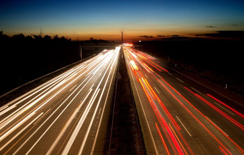 Auf der A2 bei Hanover, Deutschland (Keystone/EPA/Julian Stratenschulte)