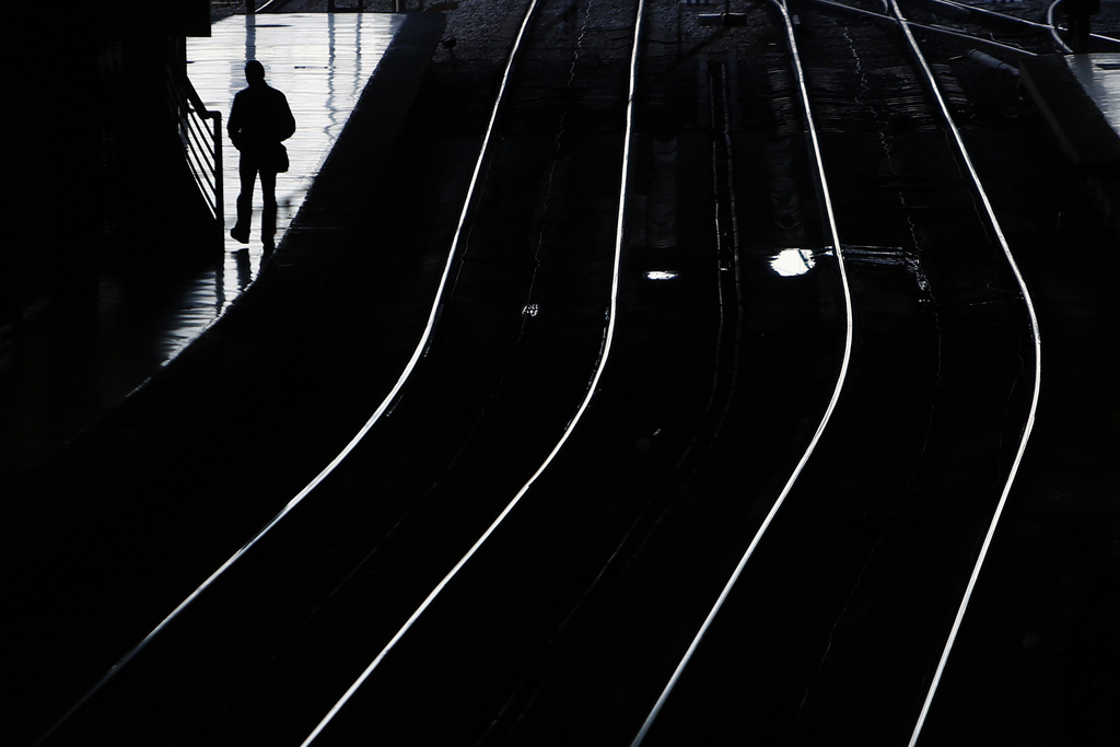 Bahnhof in Madrid, Spanien (Keystone/AP Photo/Andres Kudacki)