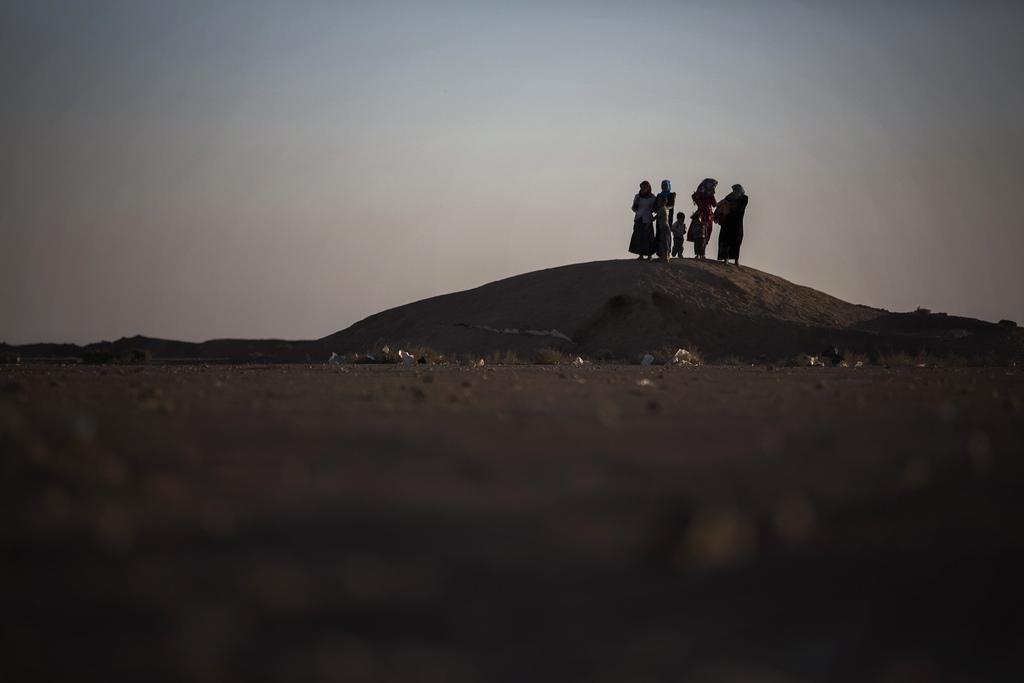 Im Zaatari Flüchtlingscamp, Jordanien (Keystone/AP Photo/Manu Brabo)