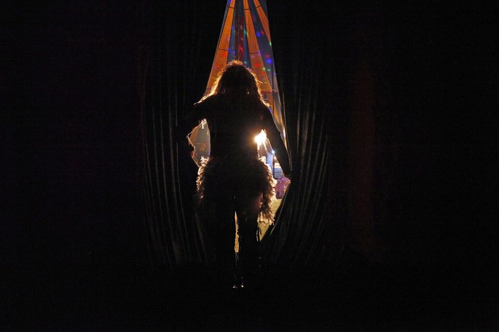 Zirkus Fama aus Mexiko mit einem Hauch von Fellinis La Strada, Santiago de Chile (AP Photo/Luis Hidalgo, Archiv)