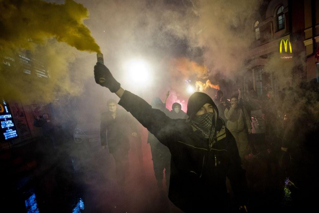 Demonstrationen in Moskau, Russland (Keystone/AP Photo/Evgeny Feldman)