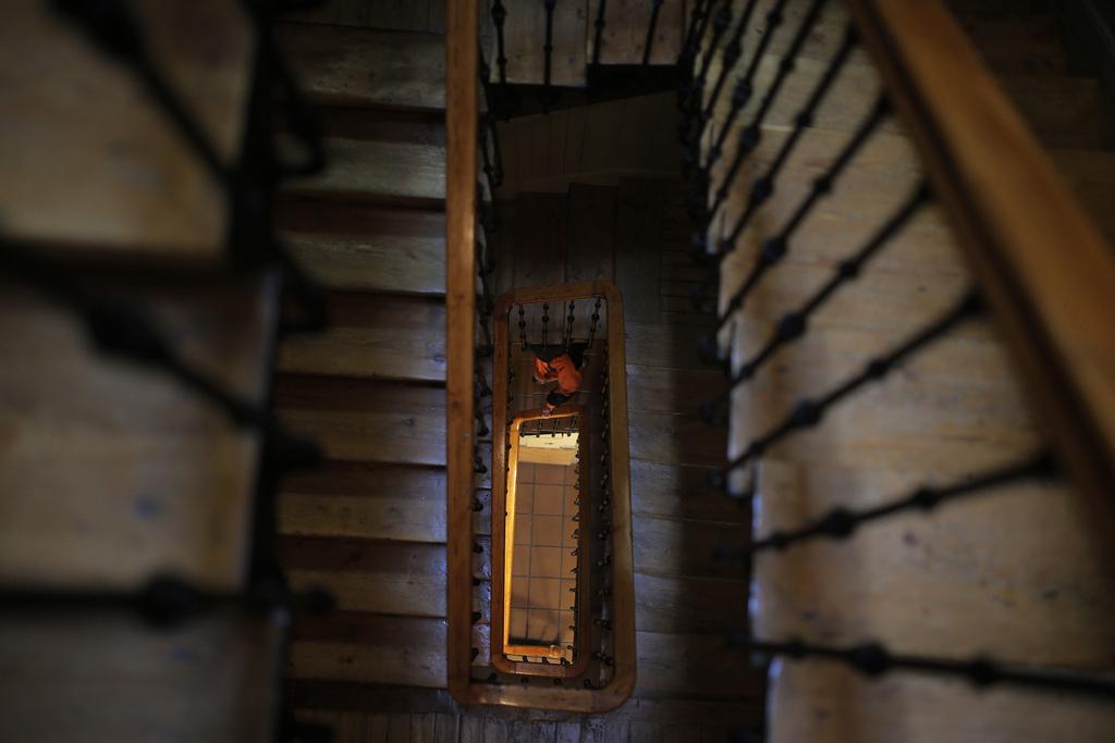 Treppenhaus in Madrid, Spanien (Keystone/AP Photo/Andres Kudacki)
