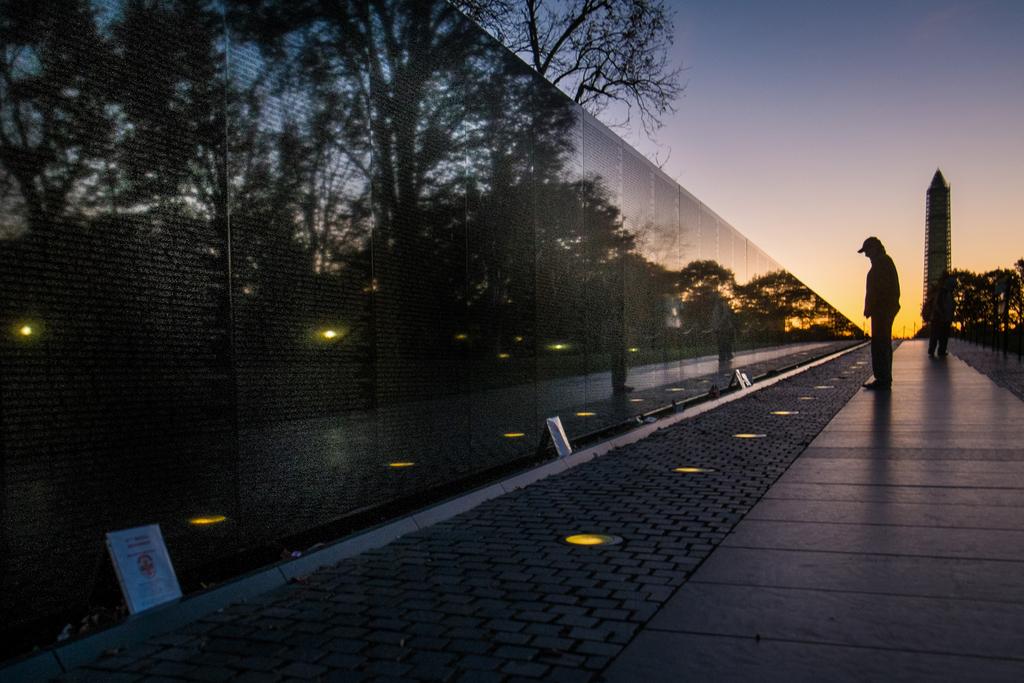 Erinnerung an den Vietnamkrieg in Washington, Deutschland (Keystone/AP Photo/J. David Ake)