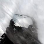 Foto der Nasa: Der neu abgebrochene Riesen-Eisberg in der Antarktis EPA/NASA  HANDOUT