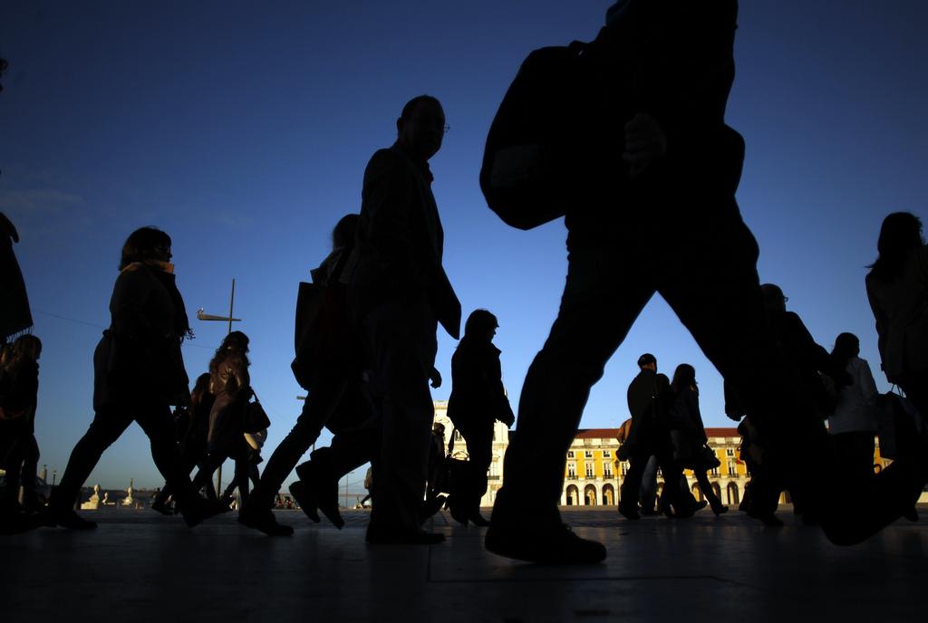 Novemberlicht in Lissabon, Portugal  (AP Photo/Francisco Seco)
