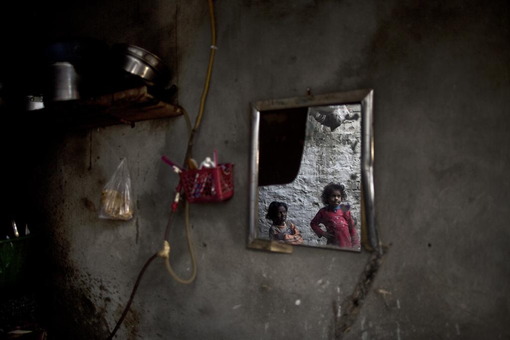 Kinder bei Polio-Impfung in Islamabad Pakistan  (AP Photo/Muhammed Muheisen)