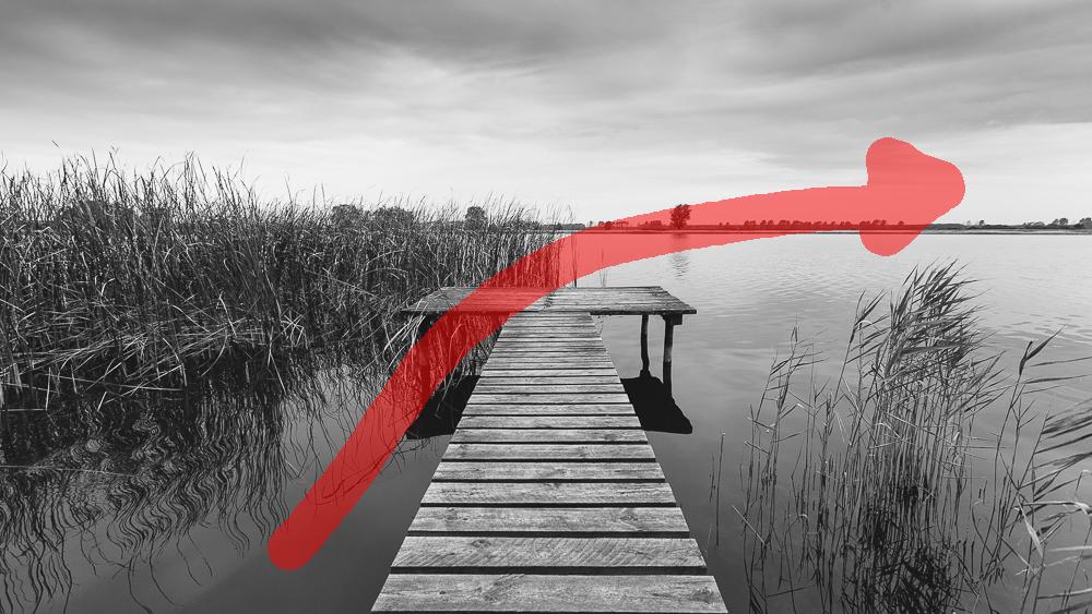 Komposition: Blickführung